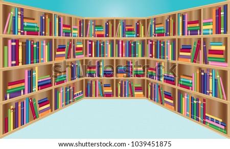 school library  bookstore