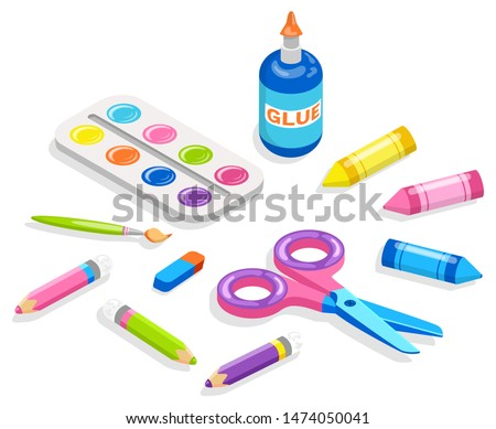 school supplies for painting