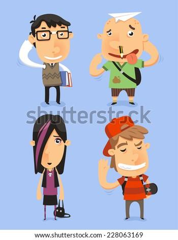 school teen adolescents