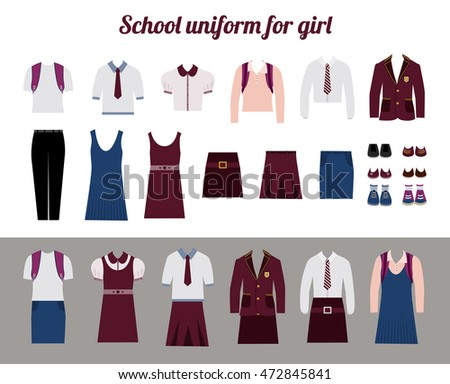 school uniform for girls kit
