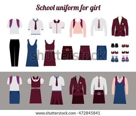 school uniform for girls kit