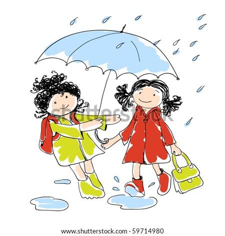 Photobucket | little kids under umbrella Pictures, little kids