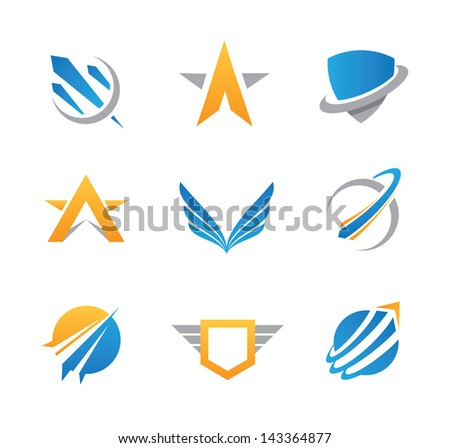 sci fi military logo action