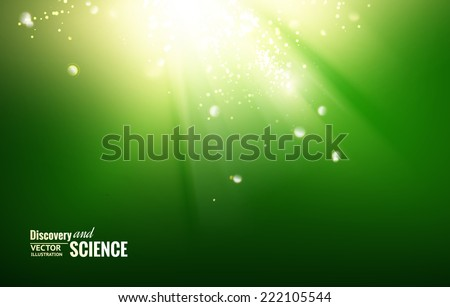 science color background with