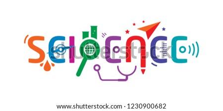 science design concept vector #1230900682