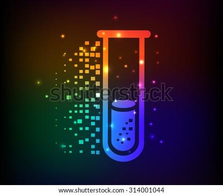science design rainbow concept