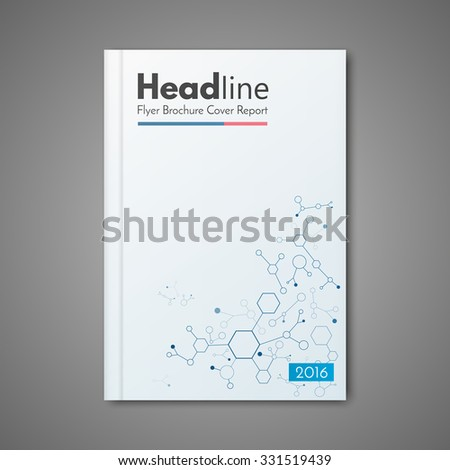 science design vector template