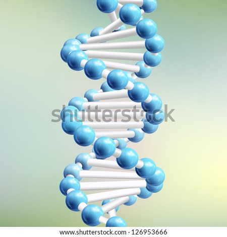 Science DNA. Vector Illustration, eps10, contains transparencies.
