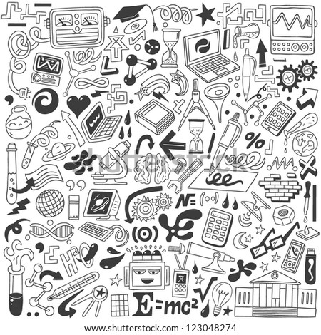 Science - doodles collection