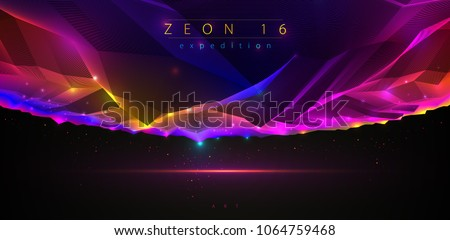 science fiction vector cosmic