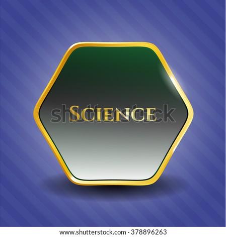 Science golden badge