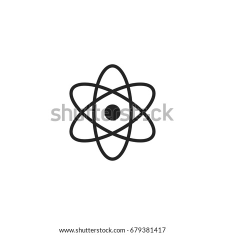 science icon vector isolated