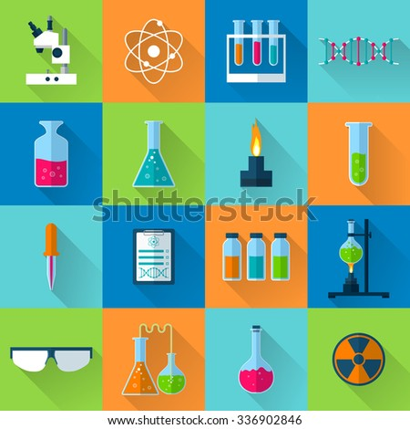 science icons science icons