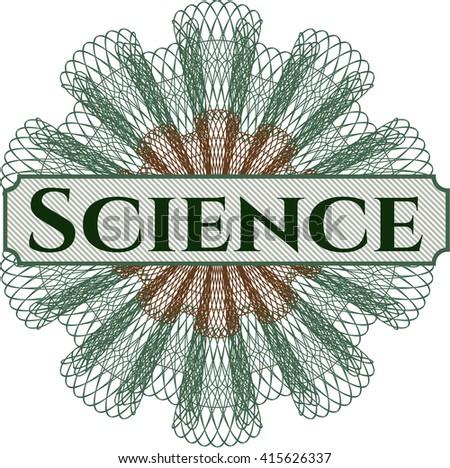Science linear rosette