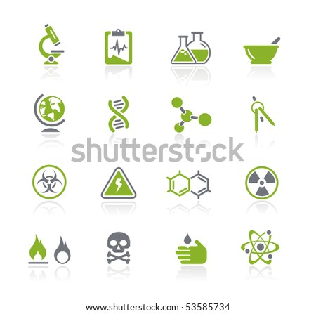Science // Natura Series - stock vector