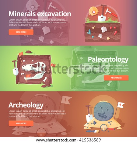 Постер, плакат: Science of life Minerals, холст на подрамнике
