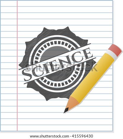 Science pencil draw
