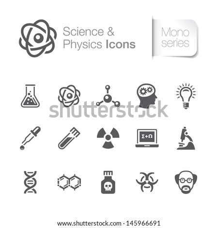 Science & physics related icons