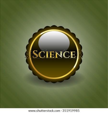 Science shiny badge