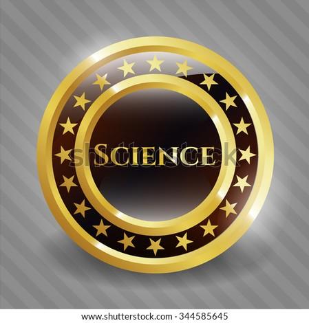 Science shiny emblem