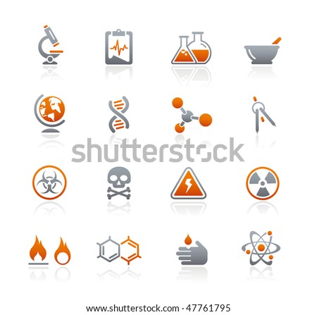 science web icons    graphite