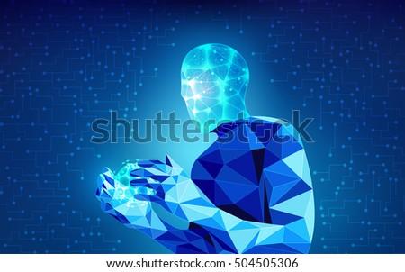 scientific analysis  futuristic