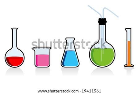 Scientific chemistry set. See my portfolio for more images.