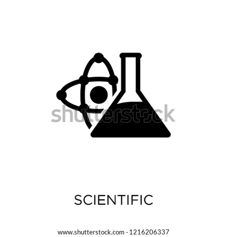 Scientific icon. Scientific symbol design from Science collection. Simple element vector illustration on white background.