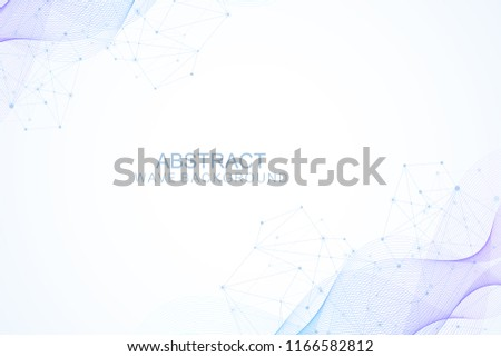 scientific molecule background