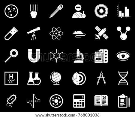 scientific study Icons