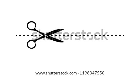 Scissors icon design