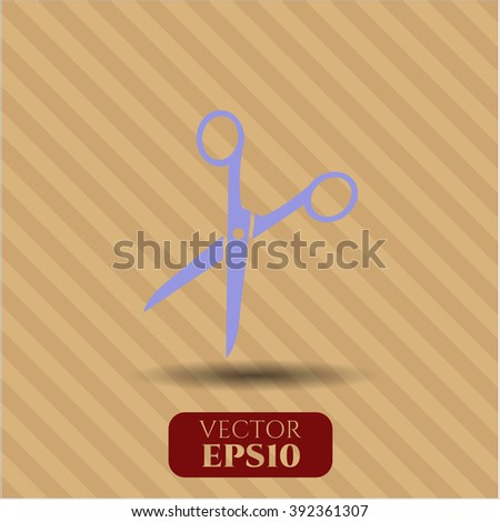 Scissors icon vector illustration