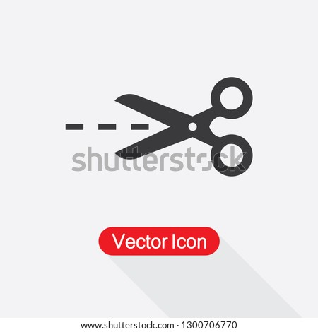 Scissors Icon Vector Illustration Eps10