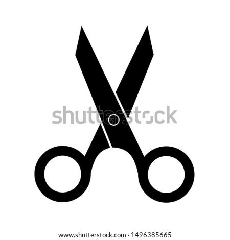 Scissors Icon Vector, Scissors Symbol