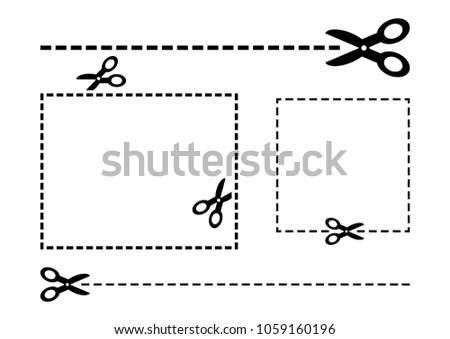 Scissor Coupon Discount Sticker Vectors Download Free Vector Art