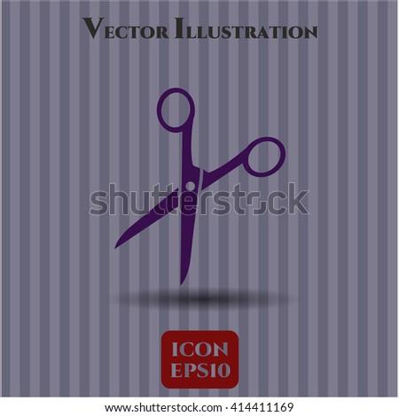 Scissors vector symbol