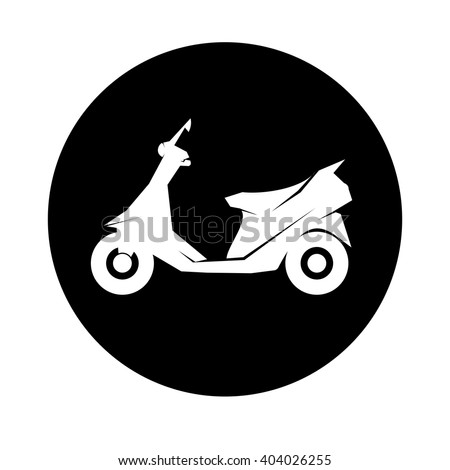 scooter icon logo scooter icon