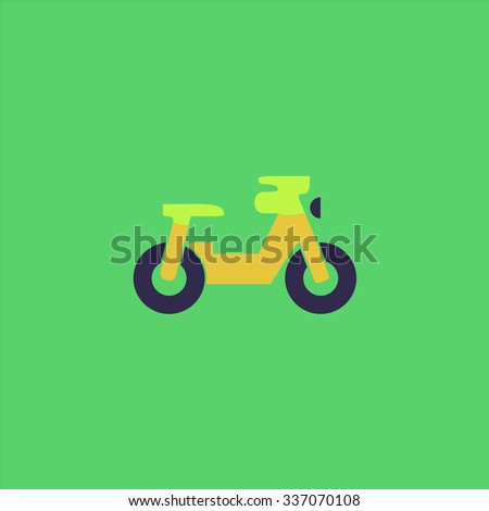 scooter icon vector icon