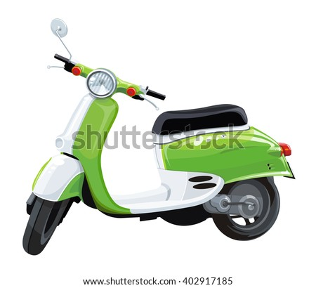 scooter motorbike