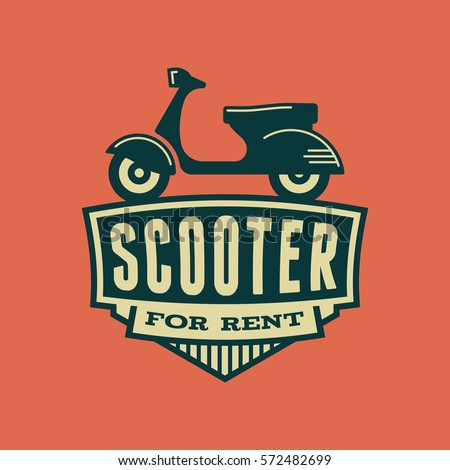 scooter rental emblem