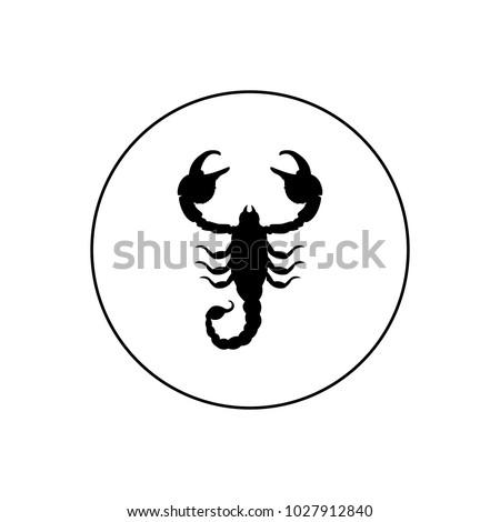Scorpio logo, icon
