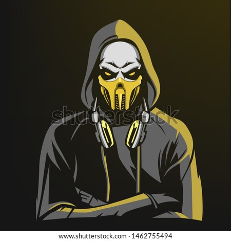 scorpion esport gaming mascot
