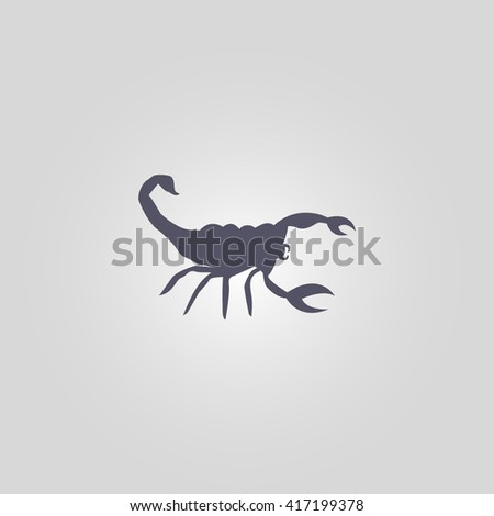 scorpion icon  scorpion sign