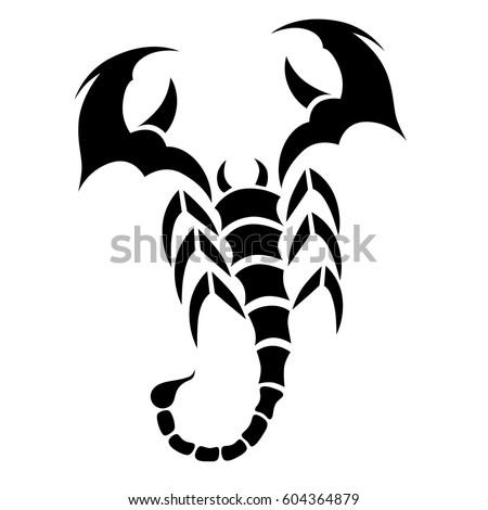 scorpion tattootattoo tribal