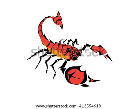 Cercle Scorpion Vecteur De Tatouage Telechargez De L Art Des