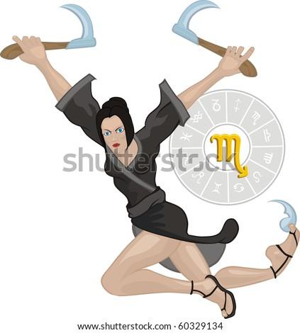 scorpion woman ninja
