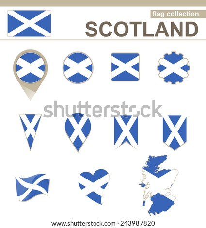 scotland flag collection  12