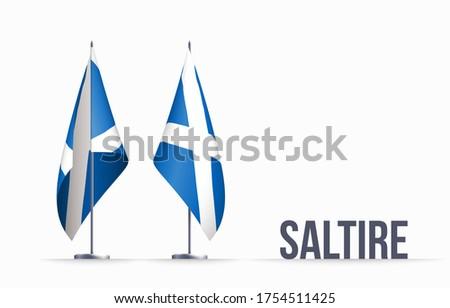 scotland flag state symbol