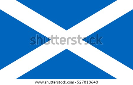 scotland flag vector