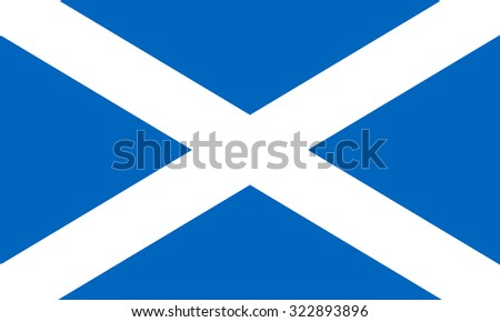 scotland nation flag